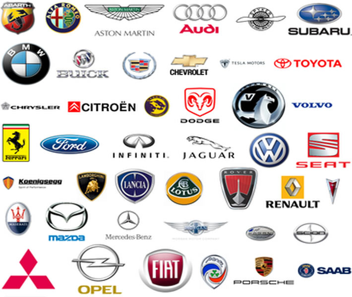 All Car Symbols Logo